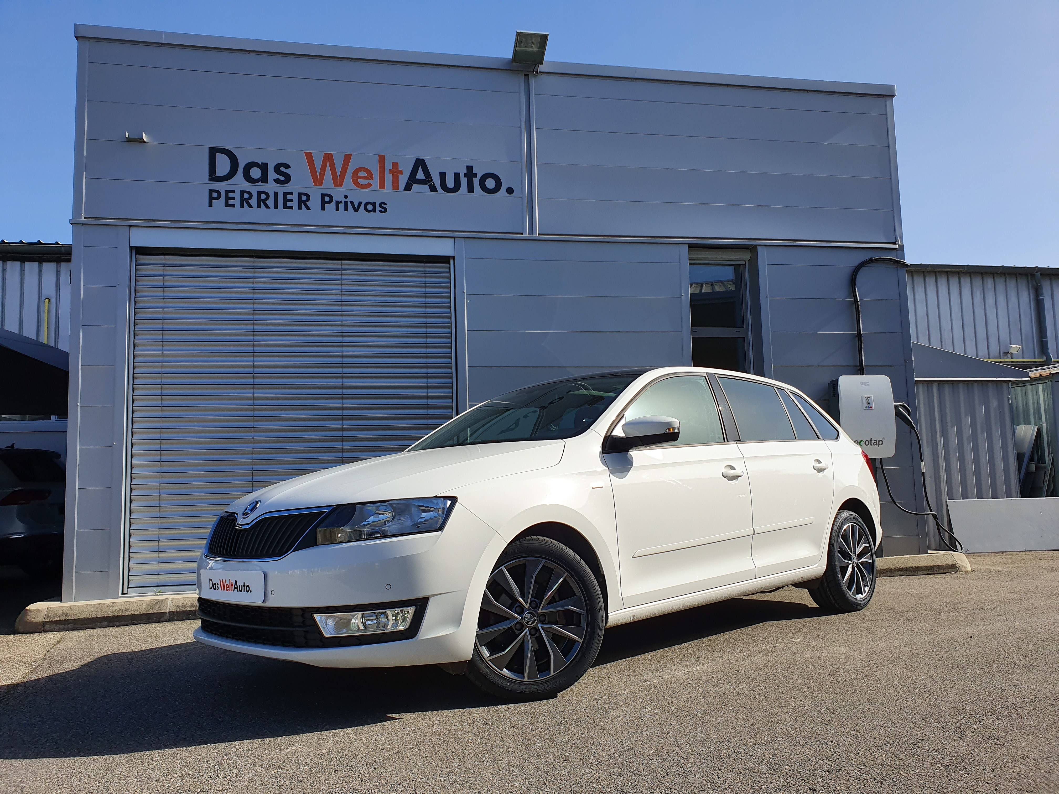 Occasion SKODA Rapid Spaceback 1.4 TDI 90 ch CR FAP GreenTec DSG7