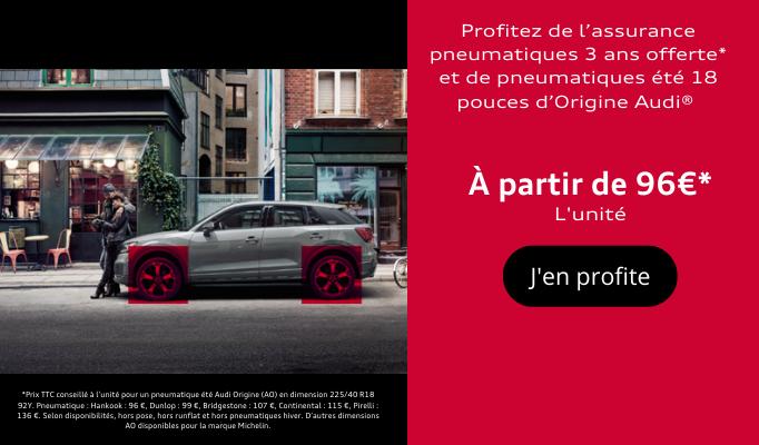 offre pneumatique Audi