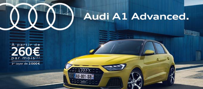 Audi A1 form contact