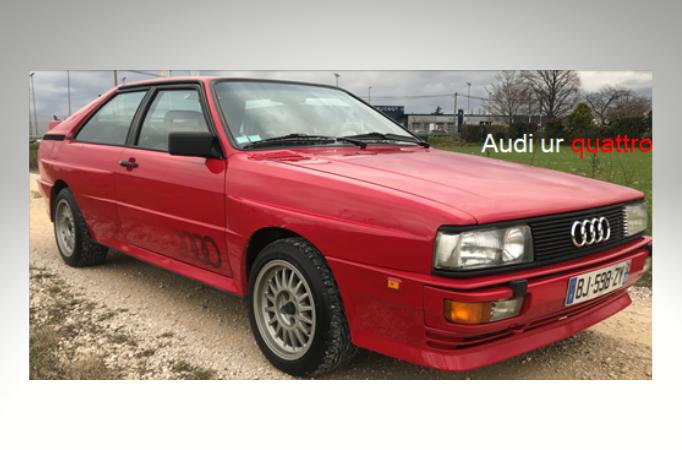 Audi ur quatro