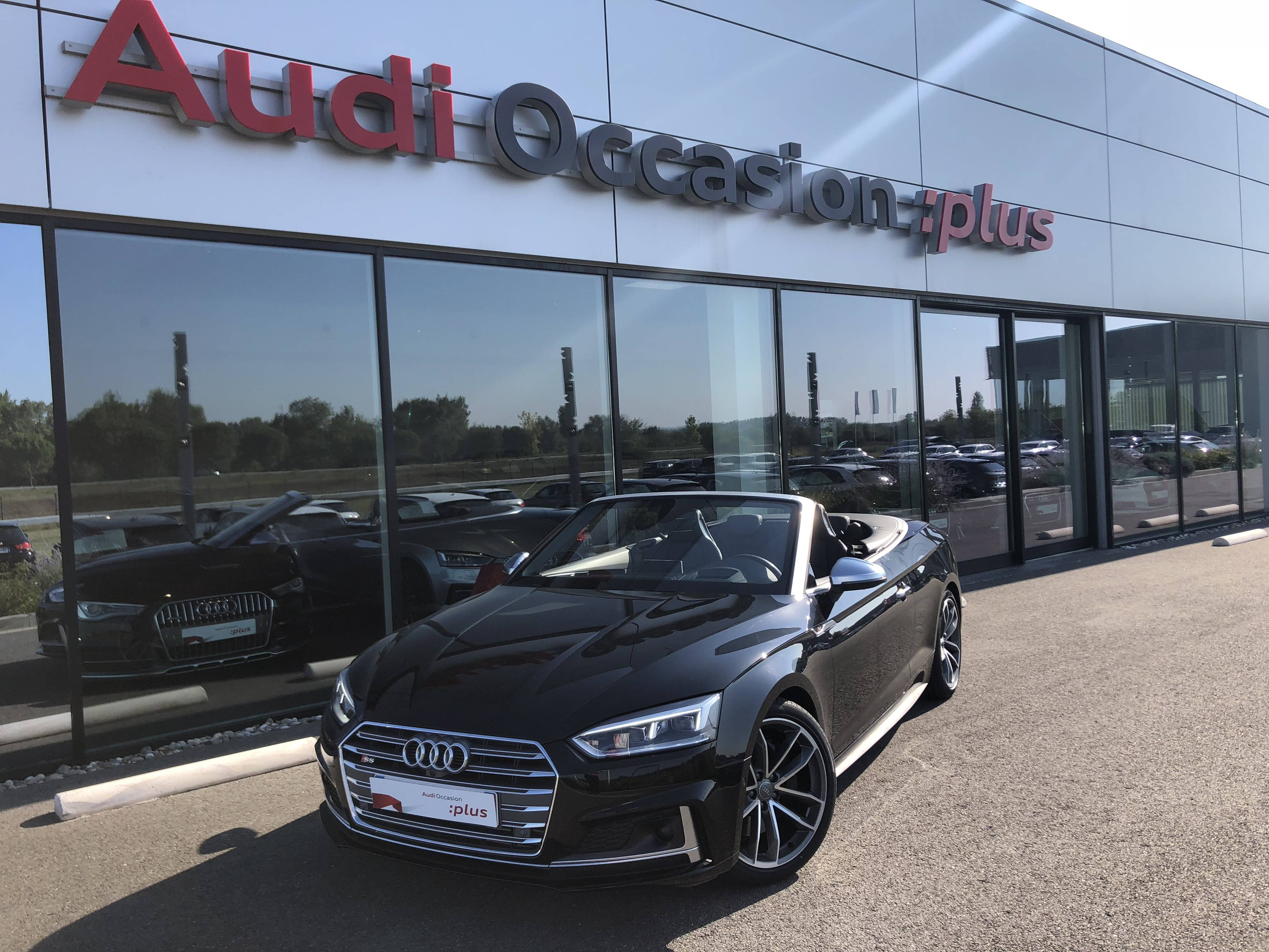 Véhicule occasion - AUDI - S5 CABRIOLET