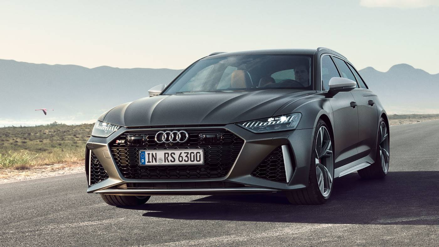 Nouvelle Audi RS6 Avant 2020 RS 6 break sport face