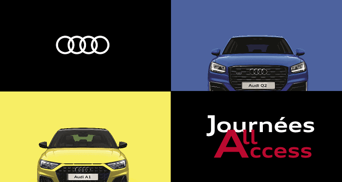 Audi All Access Actualité promotion