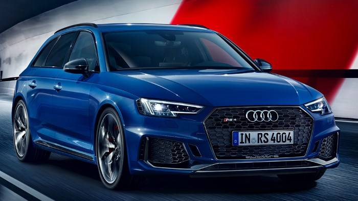 Actu Audi RS4 Avant 2018