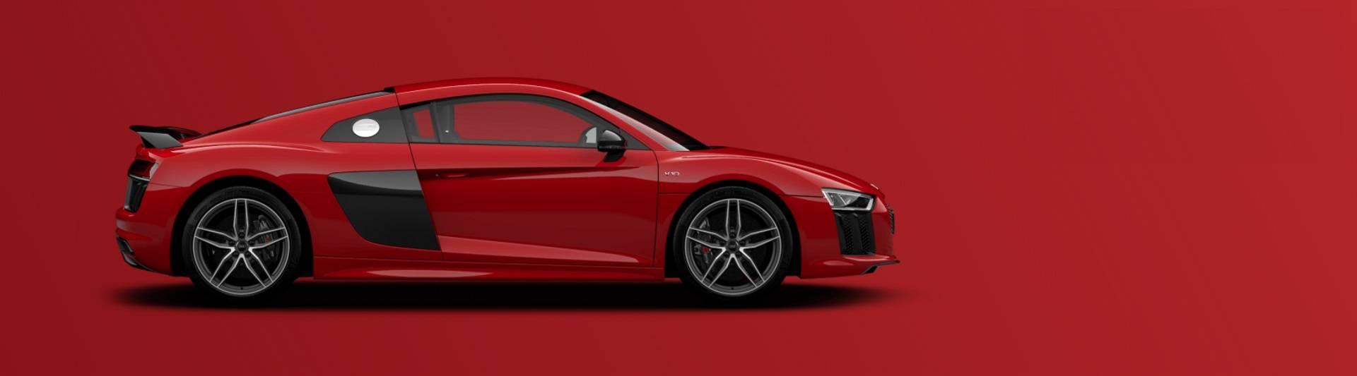 Bandeau Actualité Audi R8 V10 Coupé rouge