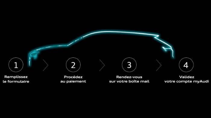 Actu Réservation SUV Audi 100% électrique e-tron