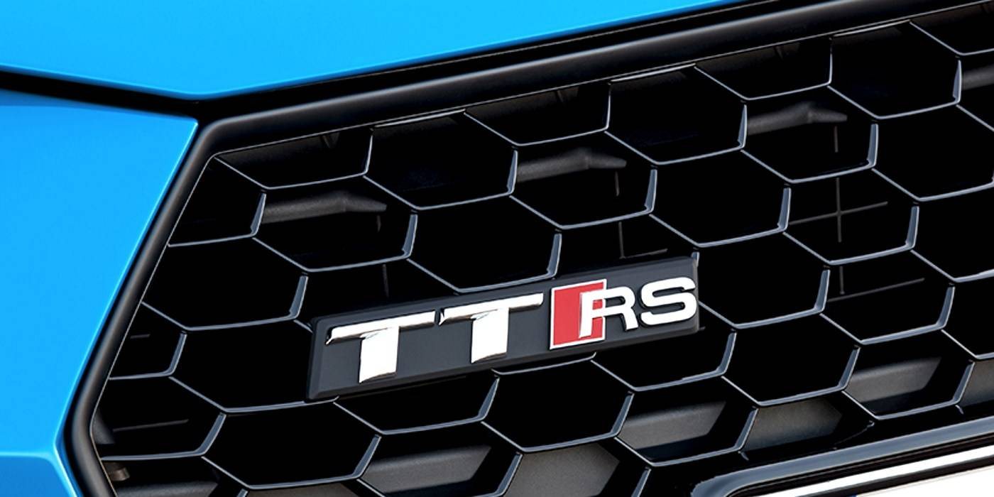 Audi TT RS coupé calandre 2019