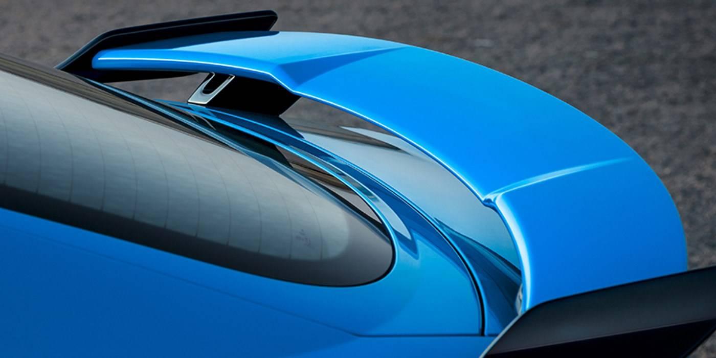 Audi TT RS lame arrière bleu 2019
