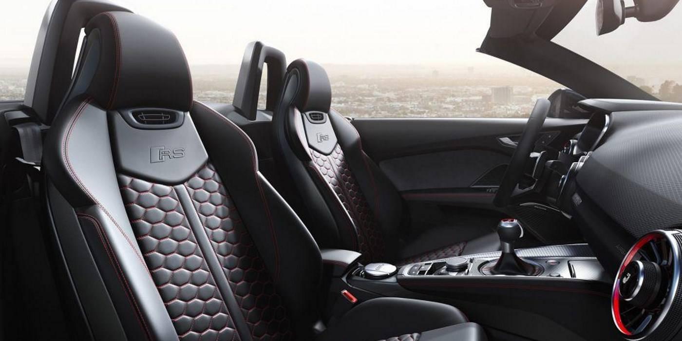 Audi TT RS Roadster 2019 intérieur sièges cuir