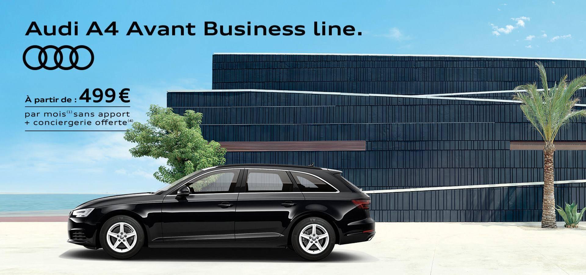 Audi A4 Avant Business line: offre sociétés