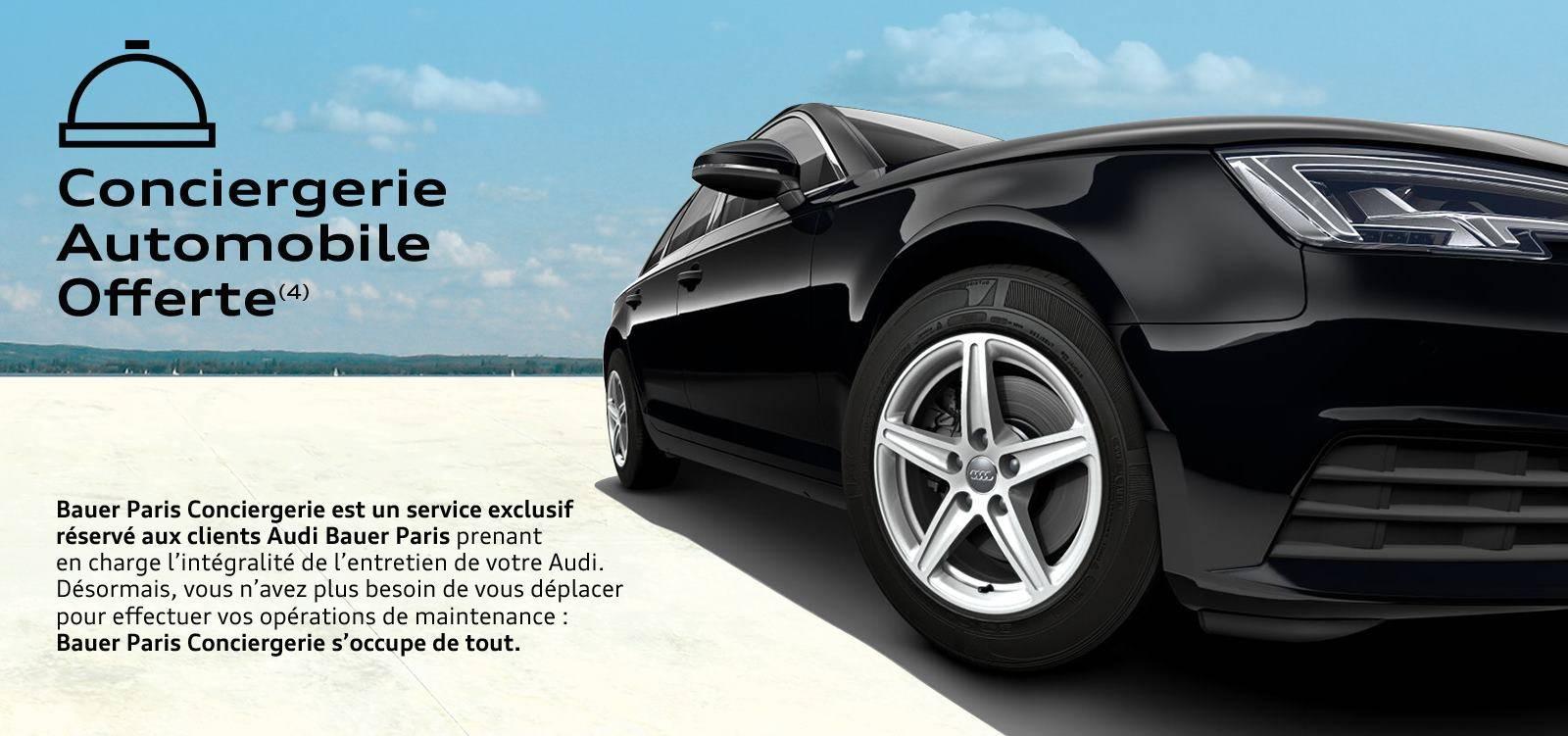 Audi A4 Avant Business line: offre conciergerie