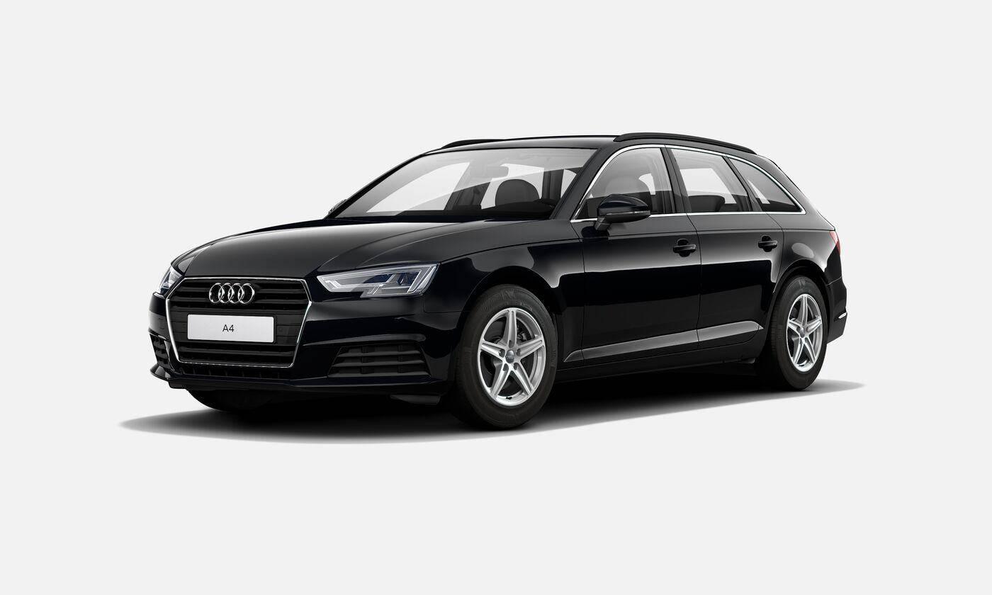 Audi A4 Avant Business line 2019 noir mythic