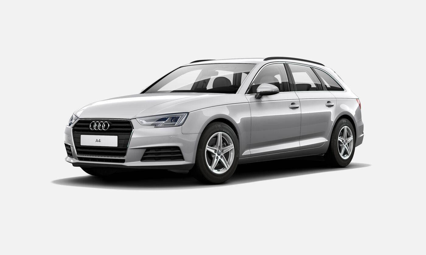 Audi A4 Avant Business line 2019 argent fleuret