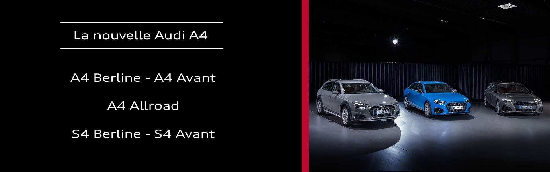 Nouvelle Audi A4 2019-2020 Avant S4 allroad quattr