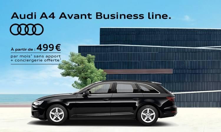 Audi A4 avant business conciergerie