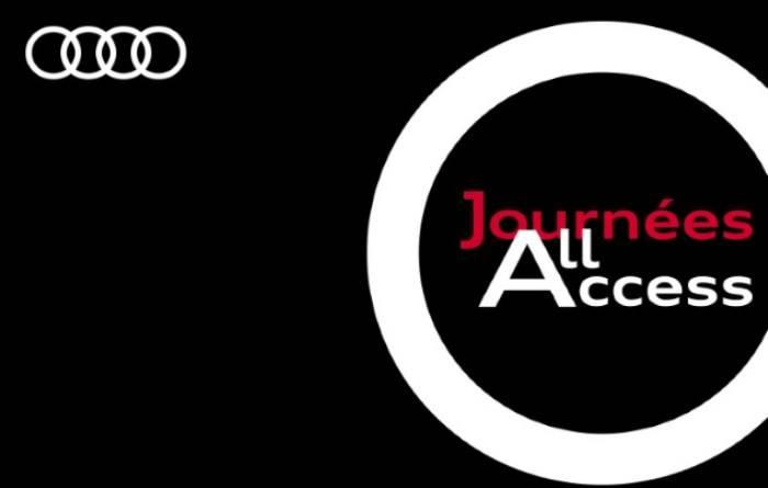 Journées All Access Véhicules Audi Occasion :plus