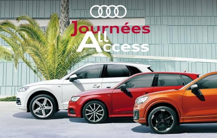 Journées All Access Véhicules neufs - Audi neuve