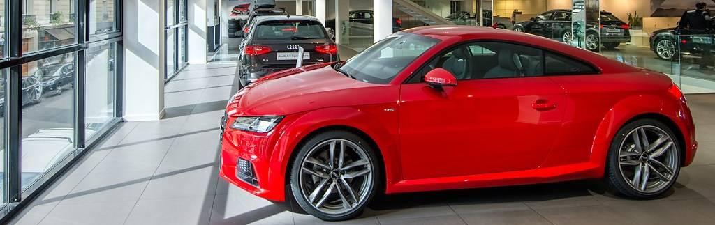 Audi neuves et voitures d'occasion en stock chez B