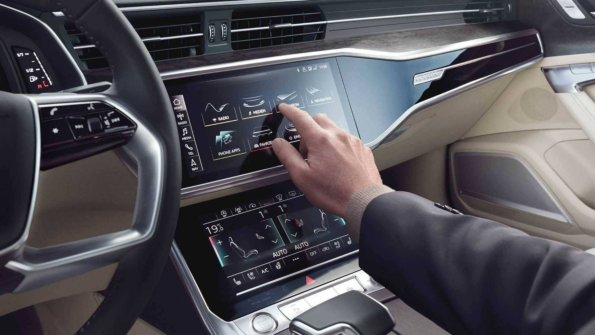 Audi A6 Berline 2018 Tactile multimedia