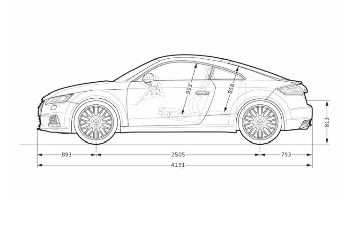 TT 2019 dimensions profil longueur