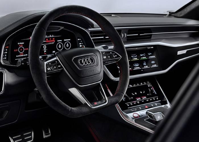 Nouvelle Audi RS7 TDI intérieur volant