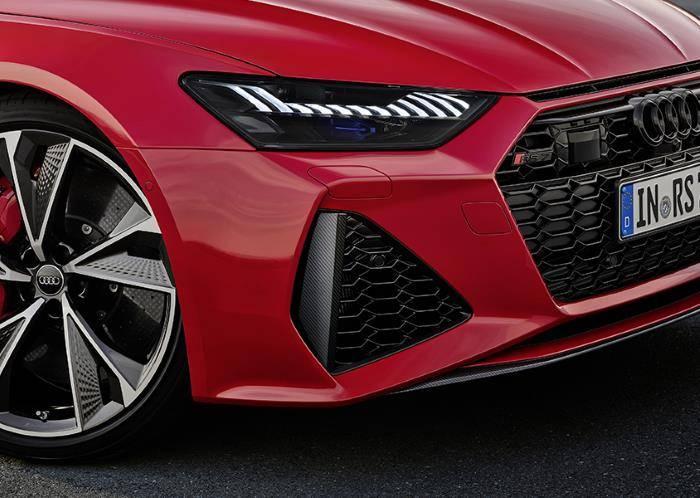 Nouvelle Audi RS7 TDI Quattro sport détail