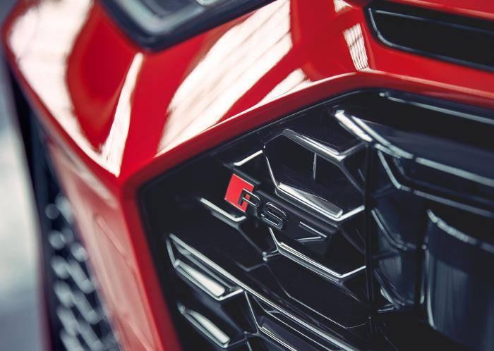 Nouvelle Audi RS7 TDI Quattro sport calandre
