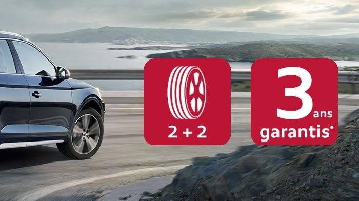 Promotion pneu Audi AO origine discount offre prix