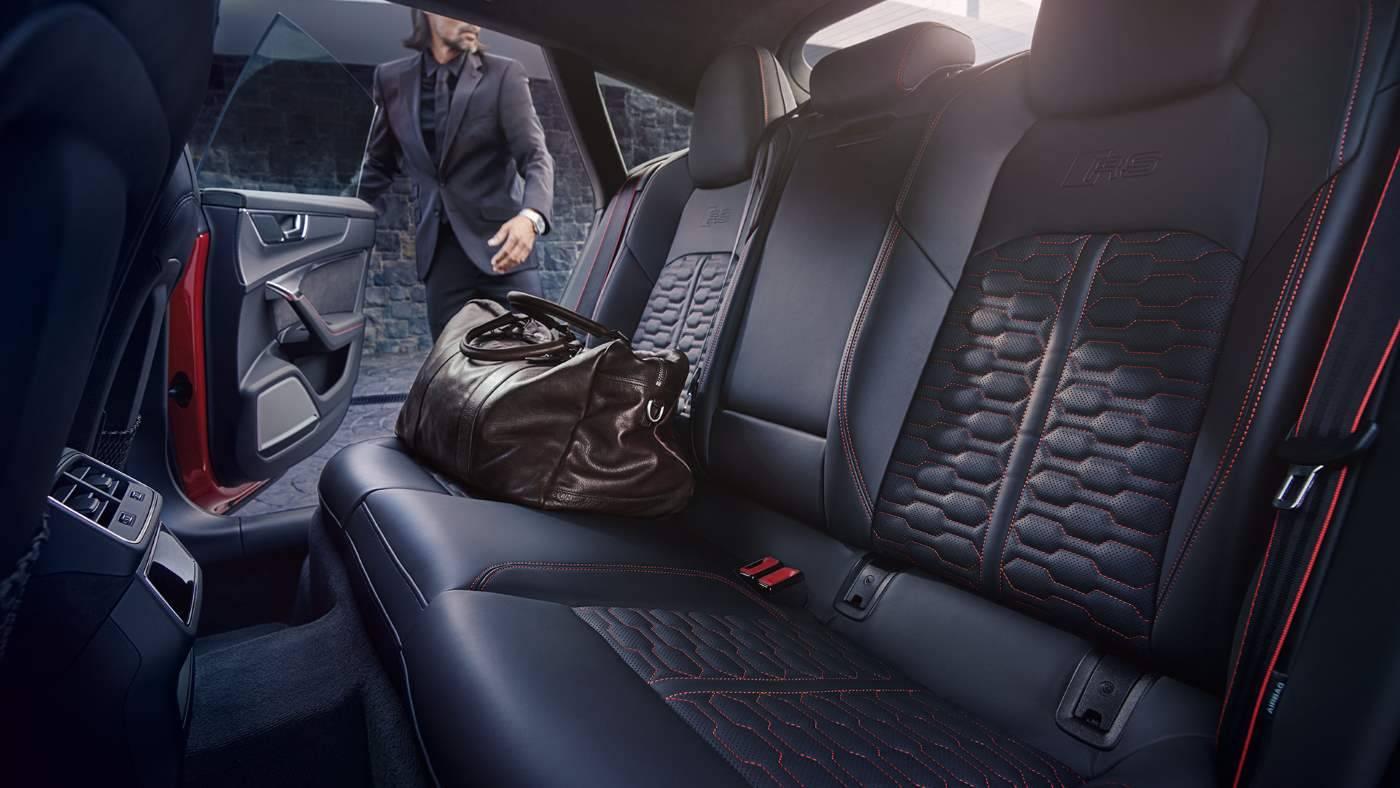 Nouvelle Audi RS7 TDI intérieur places arrières