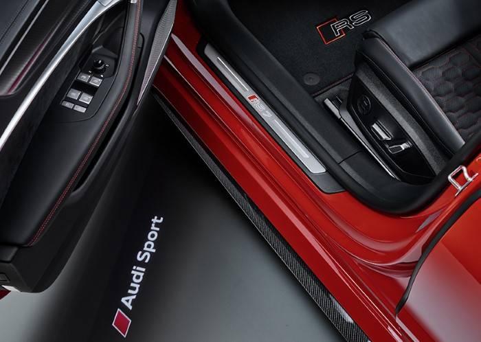 Nouvelle Audi RS7 TDI Quattro sport projection sol