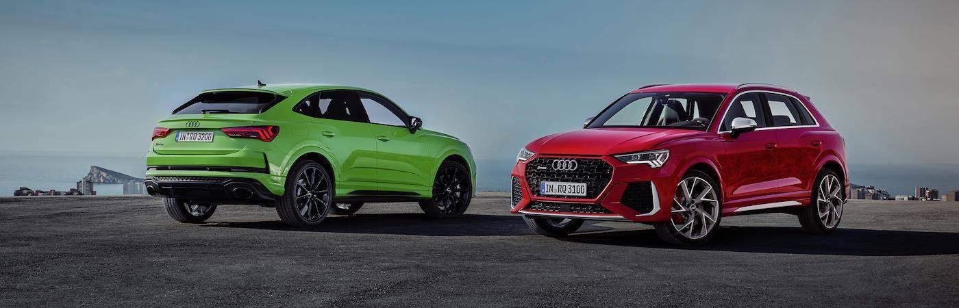 Nouvelles Audi RS Q3 et Audi RSQ3 Sportback 2020