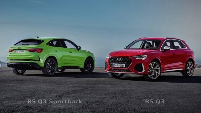 Audi RS Q3 et Audi RS Q3 Sportback 2020