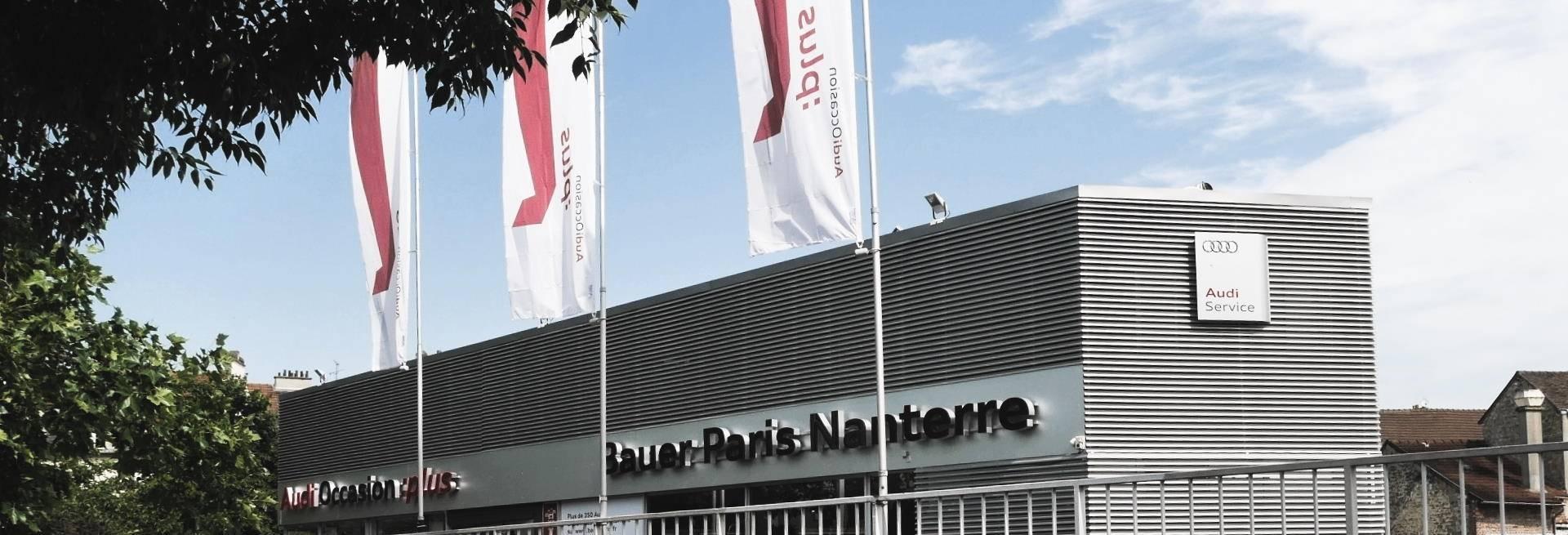 Atelier mécanique Audi Bauer Paris Nanterre 92