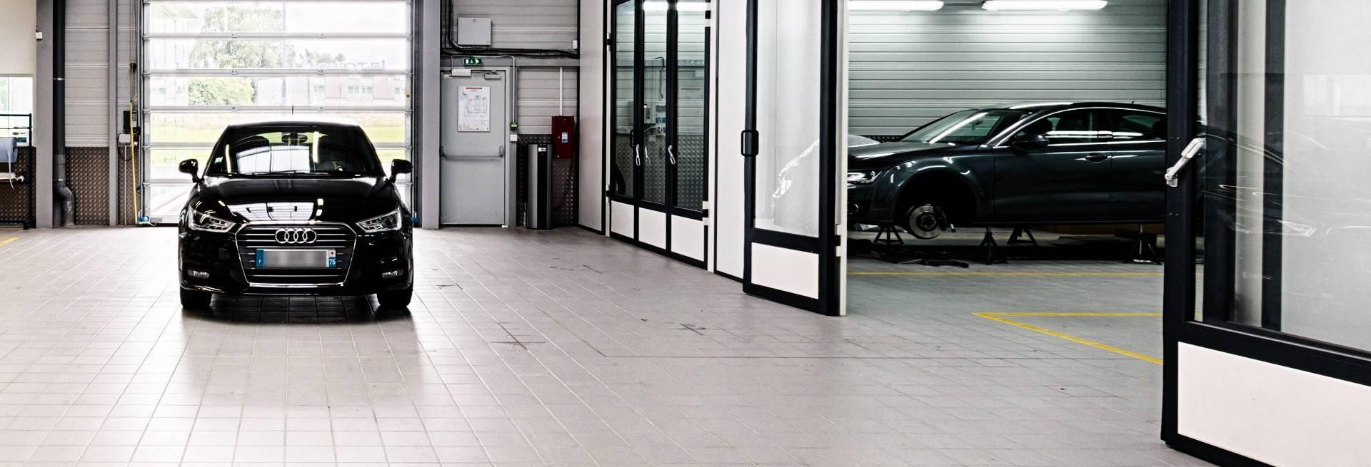 Atelier carrosserie Bauer Paris Saint-Witz Audi