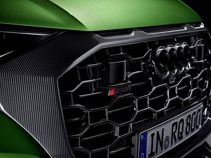 Nouvelle Audi RSQ8 calandre noire