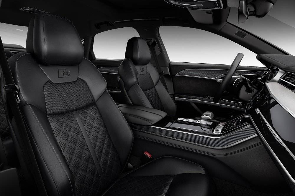 Nouvelle Audi S8 2020 sièges avant passager