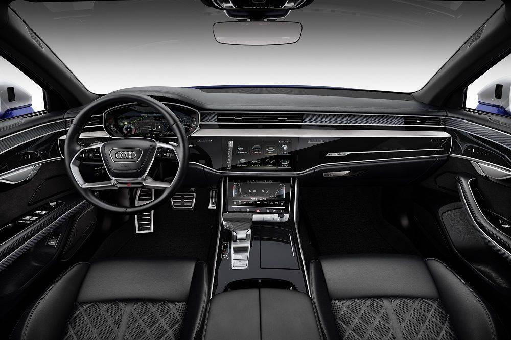 Nouvelle Audi S8 2020 intérieur cockpit conducteur