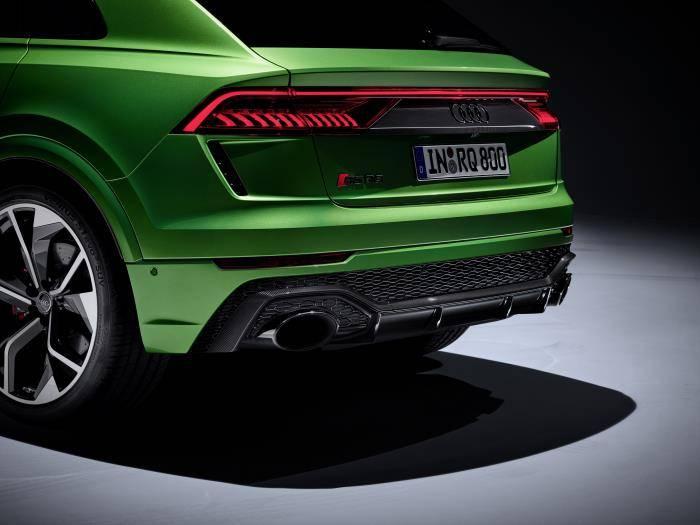 Nouvelle Audi RSQ8 quattro sport extérieur arrière