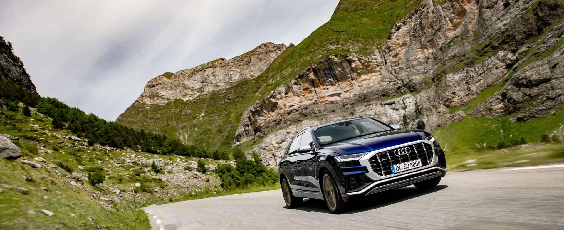 Nouvelle Audi SQ8 TDI 2019 2020 lancement