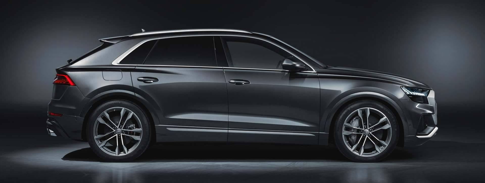 Nouvelle Audi SQ8 TDI 2019 photo extérieur gris