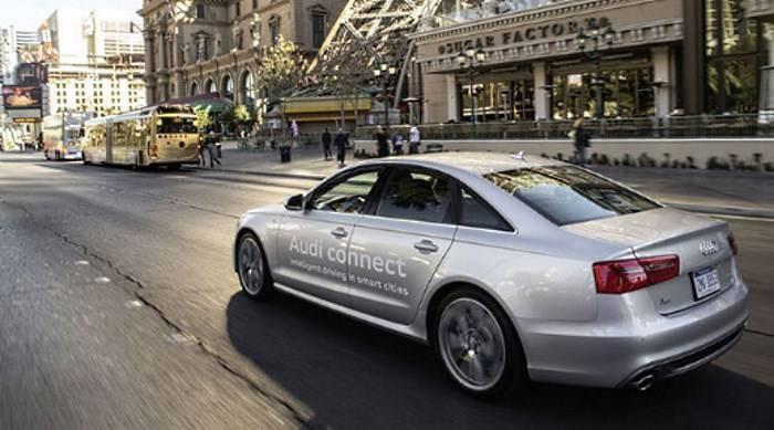 Audi A8 Audi connect