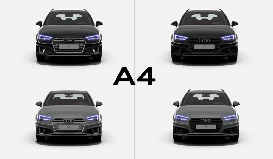 Audi A4 neuves immatriculées offre spéciale