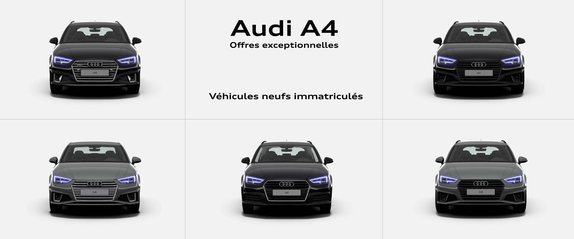 Offre Audi A4 2019 0km promotion