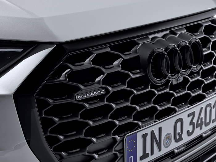 Nouvelle Audi Q3 Sportback 2019 pack brillant noir