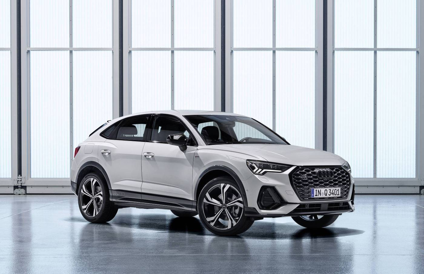 Nouvelle Audi Q3 Sportback 2019 2020 3/4 avant