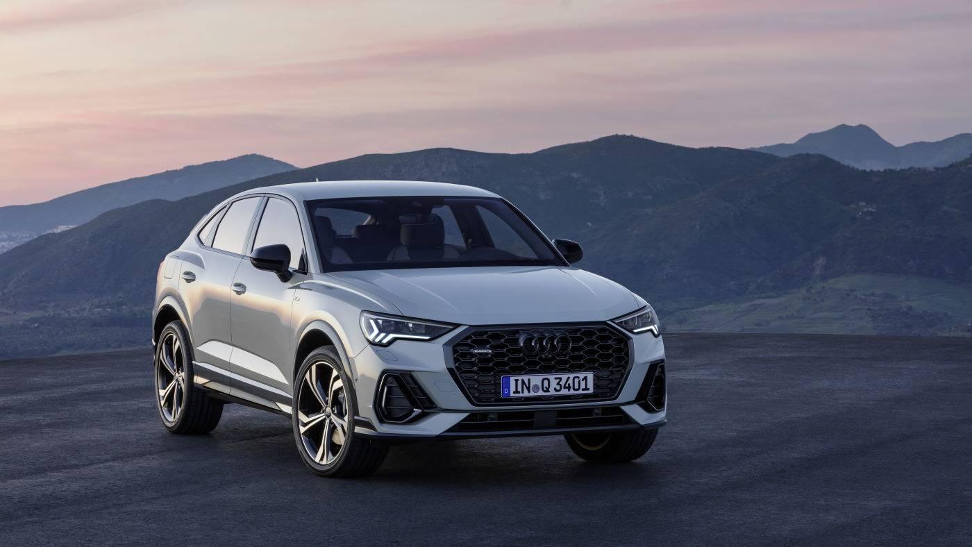Nouvelle Audi Q3 Sportback 2019 2020 quart avant