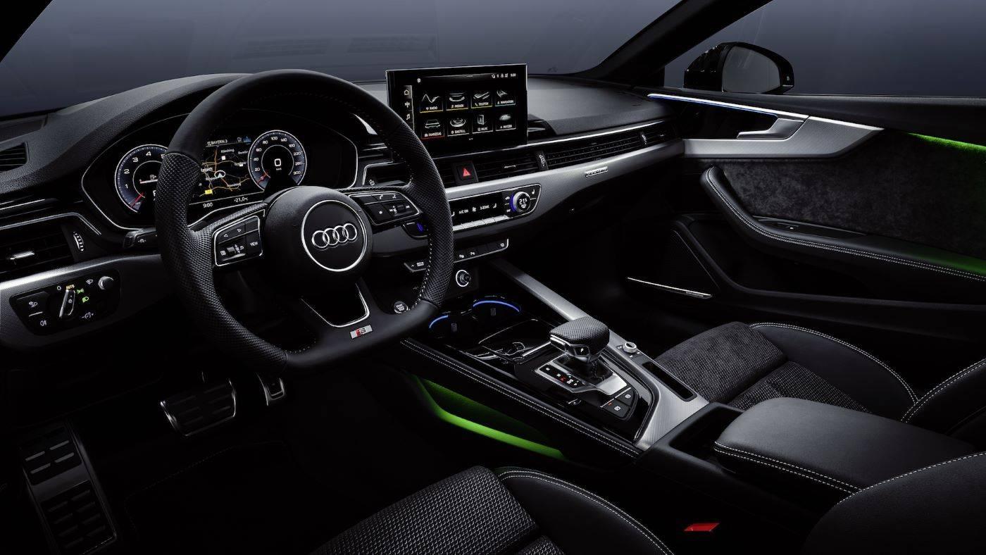 Intérieur sièges Nouvelle Audi A5 Coupé 2020