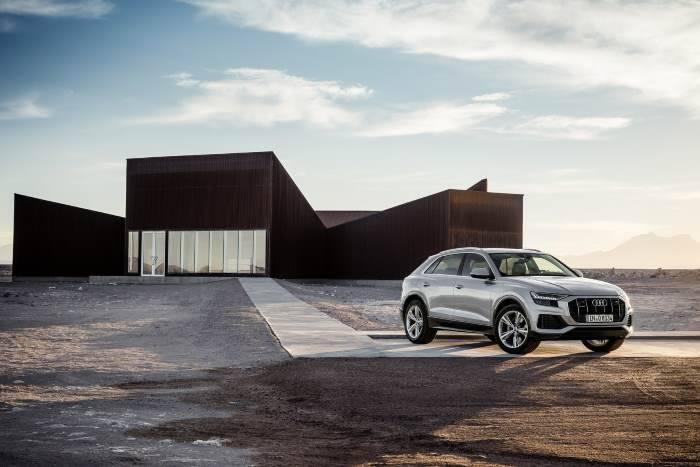 Audi Q8 Lancement des réservations 2018
