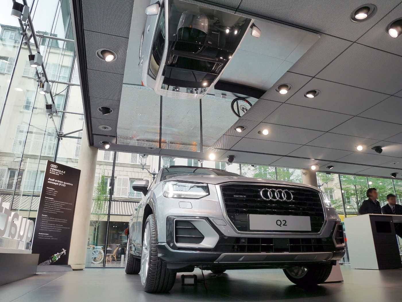 Audi Paris 1er vente LOA Leasing Q2 Q3 Q5 A1 A3 A4