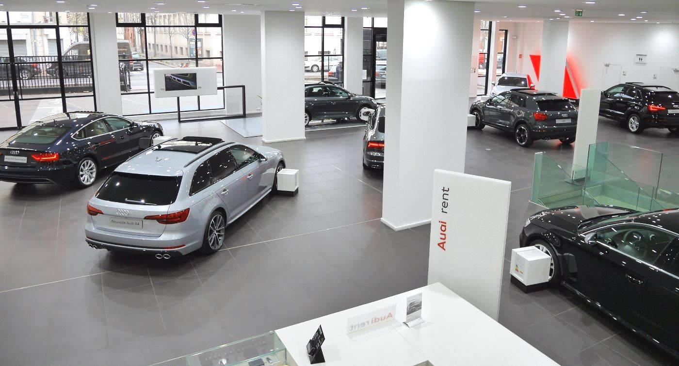 Vente Audi neuve LOA Leasing LLD Société Paris 93